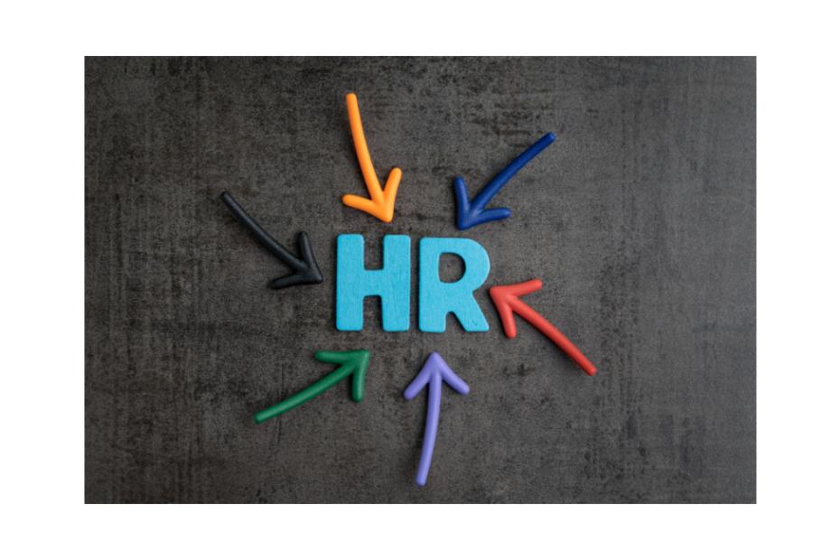 HR Logo mit bunten Pfeilen, AgileHR